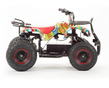 Квадроцикл (игрушка) Motoland ATV 1000 E005 (1000Вт) (Граффити) 36000