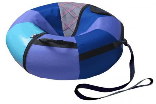 Надувные санки (Тюбинг) КРОХА 80 см (до 30 кг) комплект В (Без цвета) СН021